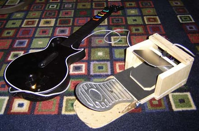How-To: Build a 'Guitar Hero' foot pedal controller