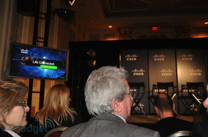 Live from the Cisco CES press conference