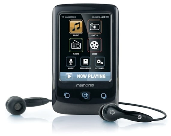 Memorex introduces TouchMP portable media player