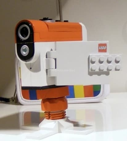 Lego camcorder spotted, great for kids 8 to 80 (sorry Grandpa)