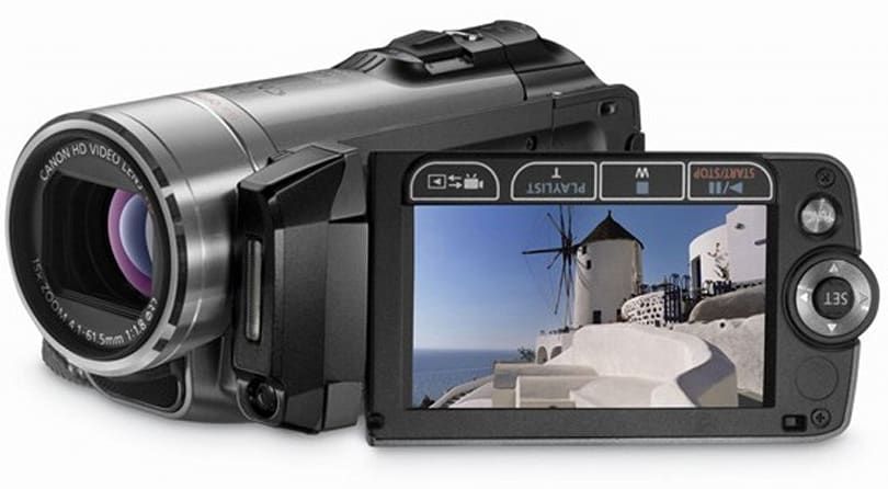 Canon's CES 2009 VIXIA camcorder lineup gets priced and dated