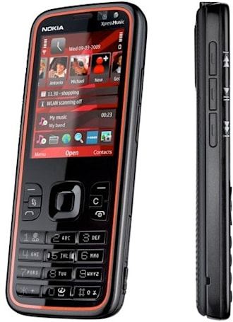 Nokia's 5630 XpressMusic is 12-mm slim, HSUPA fast, and S60 powerful