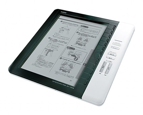 "Brother's SV-100B Bluetooth ""Document Viewer"" looks like an e-book reader to us"