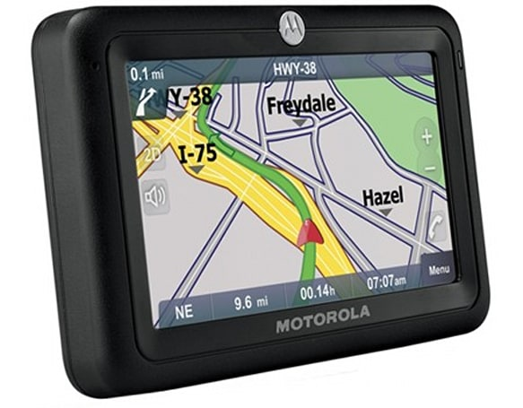 Motorola looking to produce a connected GPS unit?