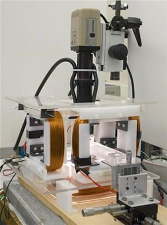 CMU researchers control microbots with mini magnets