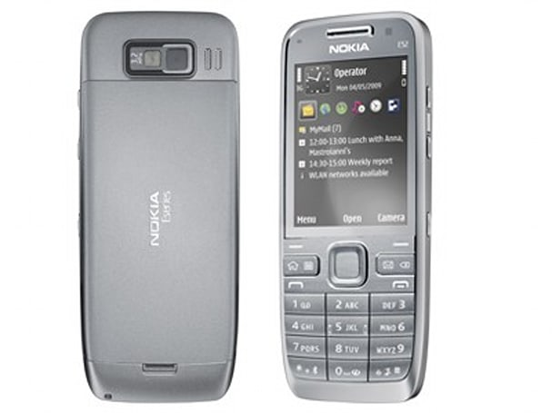 Nokia's E52 brings 8 hours of talk, 23 days of standby