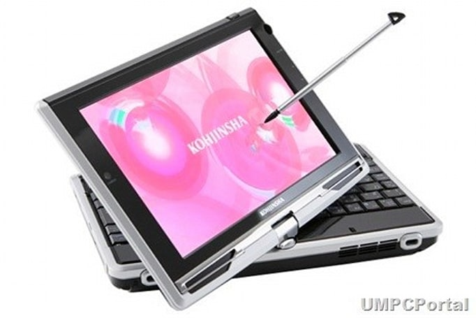 Kohjinsha SK3 convertible UMPC adds Windows 7 support, excitement, and danger