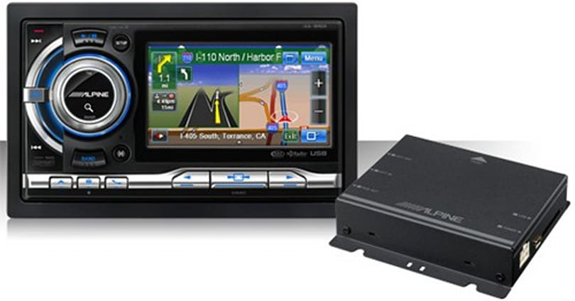 Alpine's NVE-M300 black box brings navigation to top head units