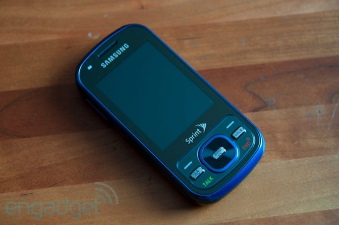 Samsung Exclaim hands-on