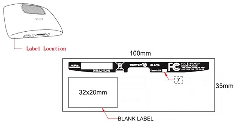 TomTom XL Live connected GPS passes the FCC