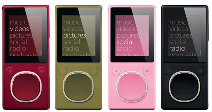 Flash Zunes that disappeared from the Zune site reappear -- is someone toying with us?