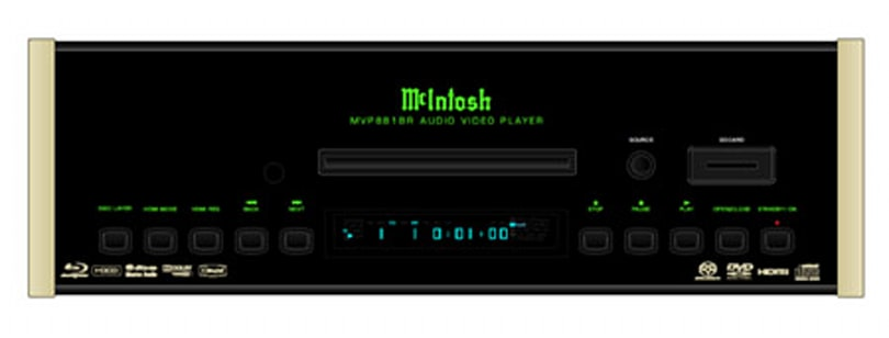 McIntosh sneaks MVP881BR universal BD player into its lineup