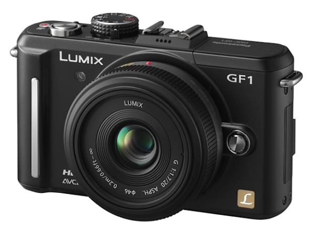 Panasonic GF1 gets 1080p video recording via firmware hack