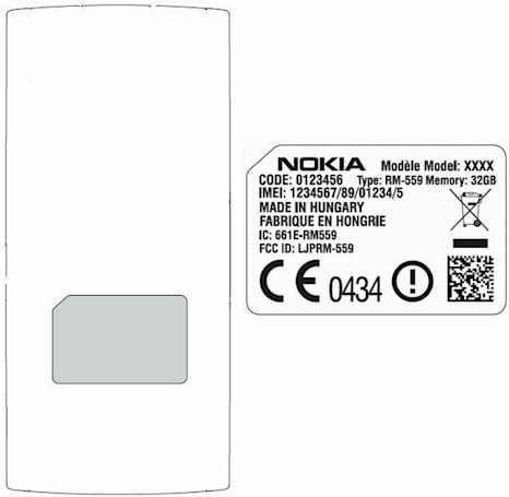 Nokia's 32GB Alvin RM-559 hits FCC, Simon 561 and Theodore 563 nowhere to be found