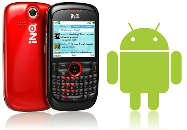 INQ picks Android for upcoming touchscreen handsets