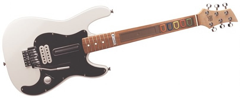 Logitech tests the boundaries with overpriced wireless guitar and drums for Wii