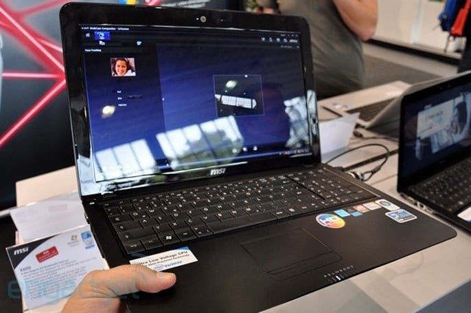 MSI X600 hands-on: 15.6-inches on a slim plastic platter