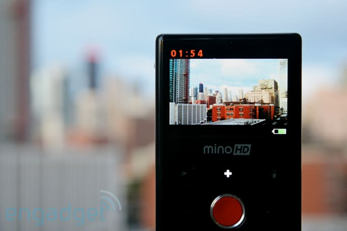 Flip MinoHD goes premium, we go hands-on