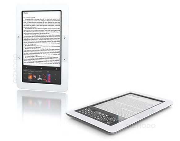 Barnes & Noble 'Nook' e-reader with color touchscreen out Tuesday for $259, says WSJ (update: Best Buy connection?)