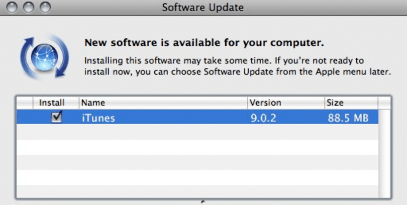 iTunes goes 9.0.2: adds support for Apple TV 3.0, kills Pre sync