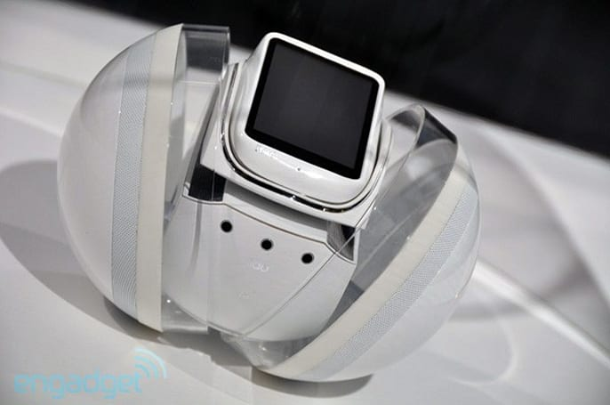 KDDI Polaris Robot concept -- it's like Rolly, but with a purpose (video)