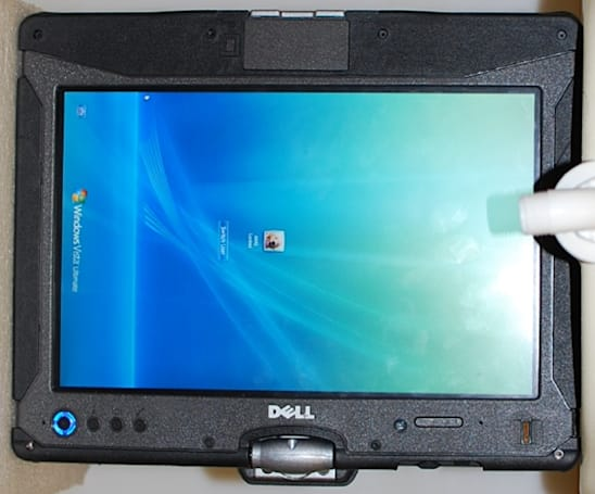 Dell's rugged Latitude XT2 XFR tablet busts through the FCC