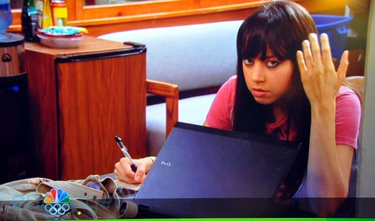 Screen Grabs: Dell's Latitude Z keeps 'Parks & Recreation' intern busy