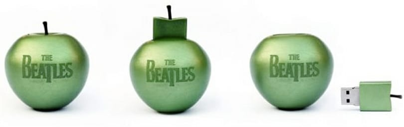 The Beatles catalog being released on limited edition USB stick