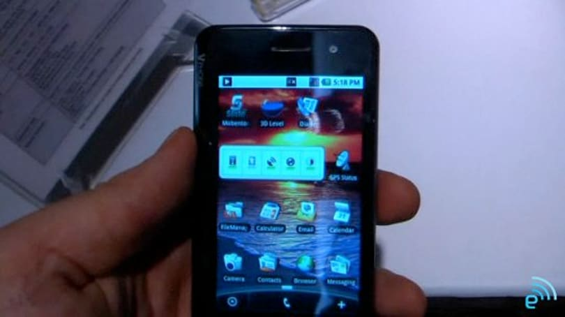 Saygus VPhone video hands-on