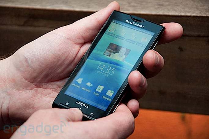 Sony Ericsson XPERIA X10 announced, we go hands-on