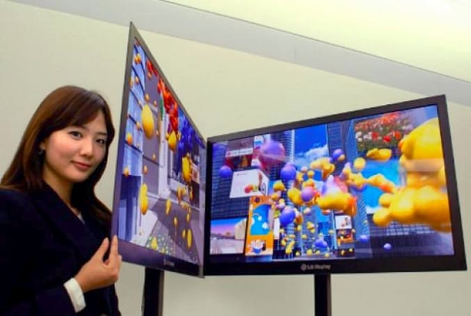"""LG announces """"world's thinnest"""" 42-inch LCD panel"""