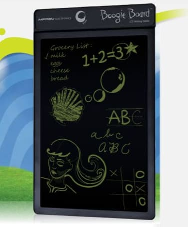 Improv Electronics Boogie Board brings the chalkboard into the 21st century