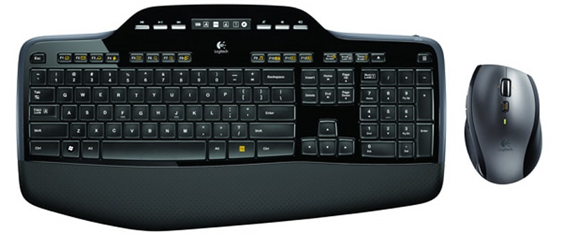 Logitech brings out Wireless Desktop MK710 with a claimed three-year battery life