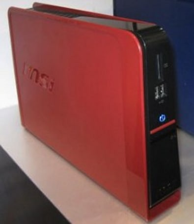 MSI Wind Box DE220 displayed and detailed