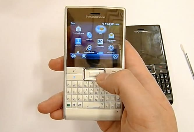 Sony Ericsson Aspen caught on video, loving life with WinMo 6.5.3