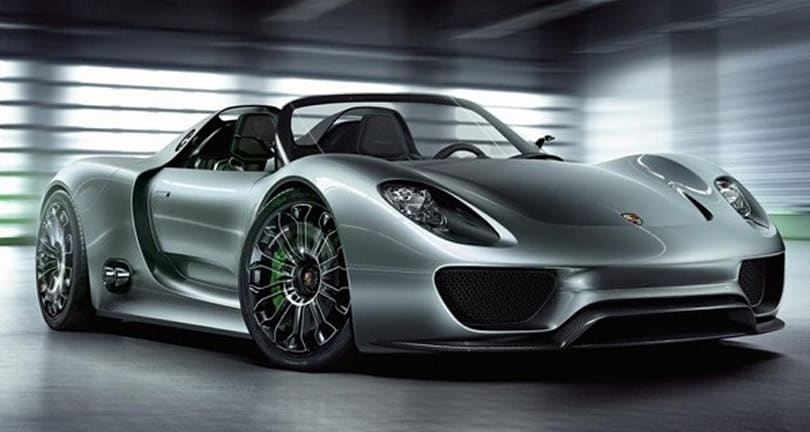 Porsche 918 Spyder concept is the most beautiful hybrid we've ever seen