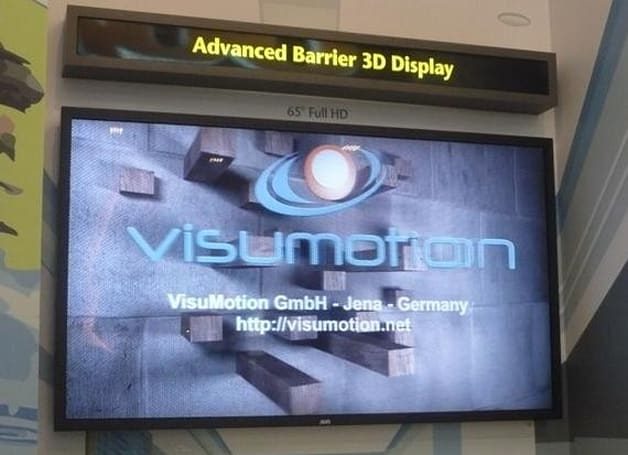 AUO's 65-inch 3D HDTV panel headed for the conveyer belt in 2H 2010, boasts polarized specs