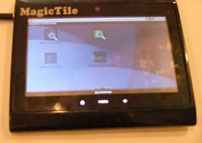 EAFT Magic Tile and Compal tablets shown in India, Tegra 2 and Android in tow