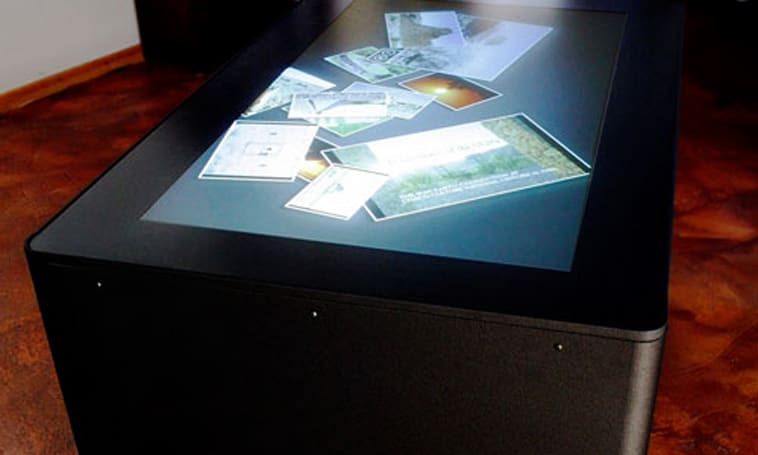 Ideum unveils new and improved MT-50 multitouch table