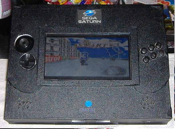 World's first portable Sega Saturn has a face only a gamer could love