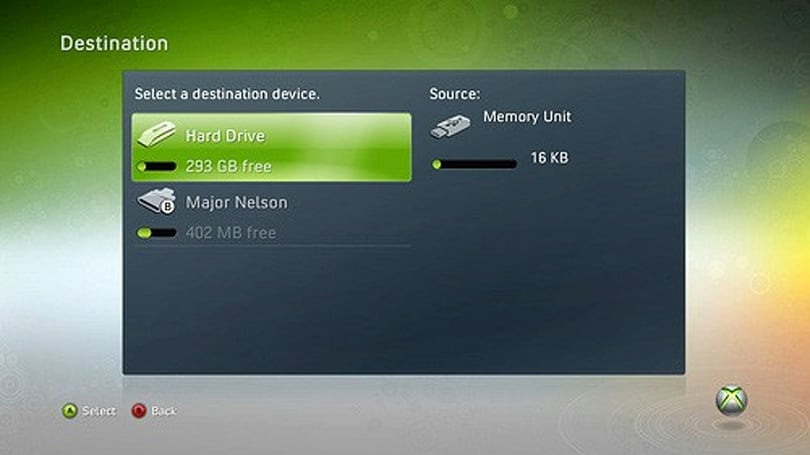 Xbox 360 update brings long-awaited USB storage support, SanDisk ready to cash in