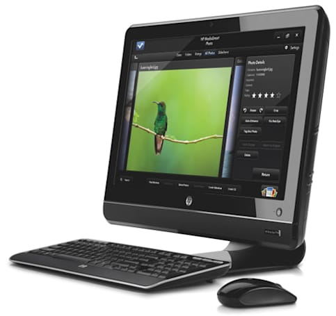 HP stuffs Core i3 / i5 into TouchSmart PCs, gently revamps other desktops