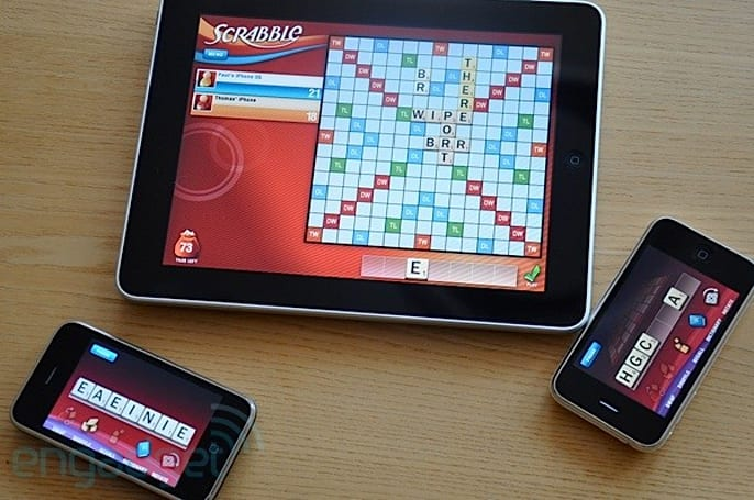 Scrabble for the iPad: stir in some iPhones and it's the best $1,000 you ever spent on a board game