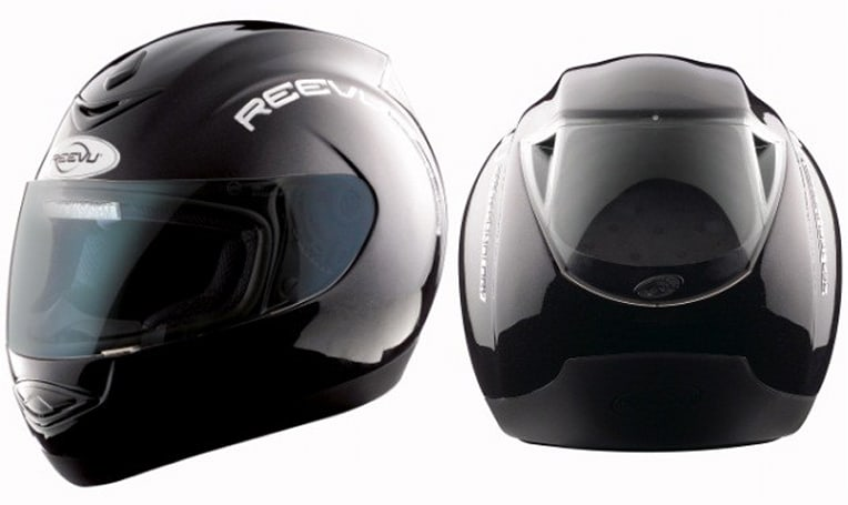Reevu lets loose updated MSX1 helmet with built-in rear-view system