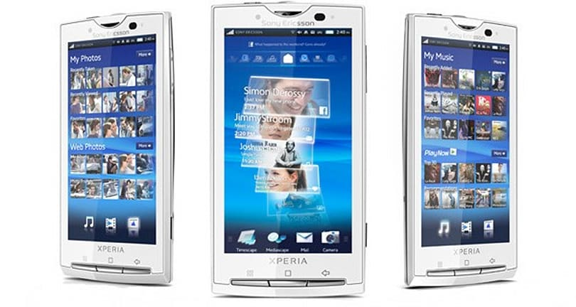Sony Ericsson X10 family to get Android 2.1 in 'Q4 2010'