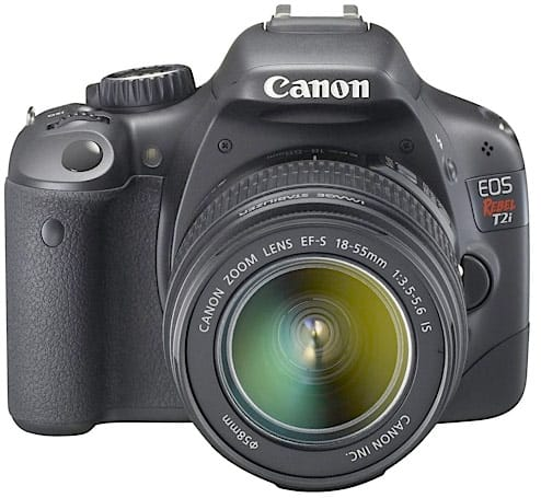 How would you change Canon's EOS Rebel T2i?