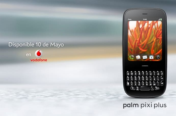 Palm Pixi Plus hits Vodafone Spain on May 10, Pre Plus conspicuously missing