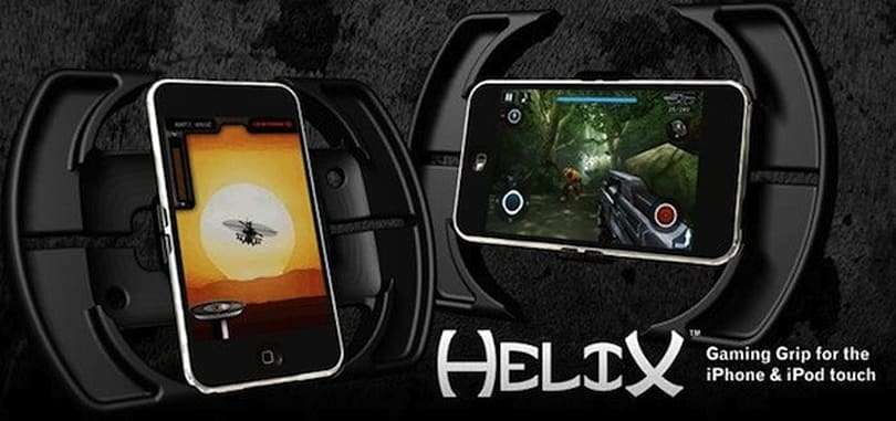 PosiMotion Helix iPhone / iPod touch gaming grip now available at Best Buy