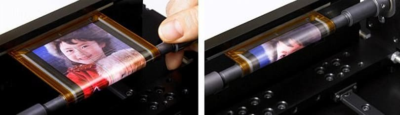 Sony's rollable OLED display can wrap around a pencil, our hearts (video)
