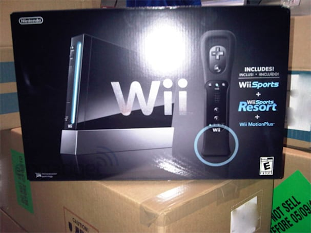 Nintendo's black Wii console arrives early at Best Buy and Sam's Club
